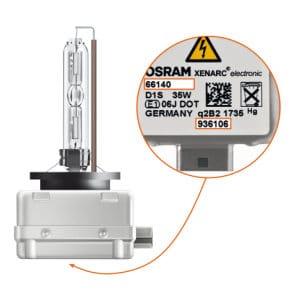 Osram lamp D1S