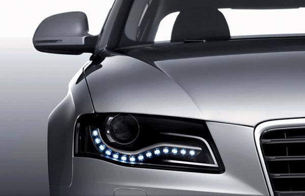 Дневни светлини в Audi A4 (B8)
